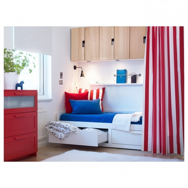 Daybed For Boy Brimnes Daybed Frame With 2 Drawers Ikea Pictures 99