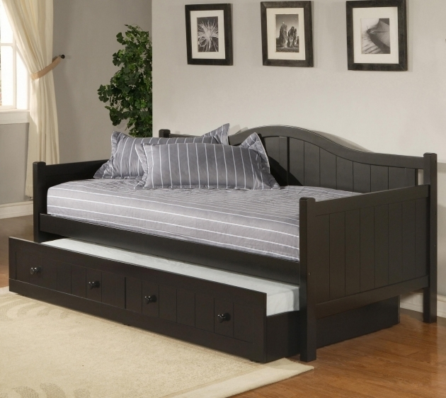 Daybed For Boy Trundle Bed Frame Pop Up Picture 12