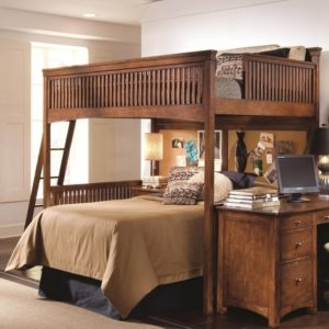 Full Over Queen Bunk Bed