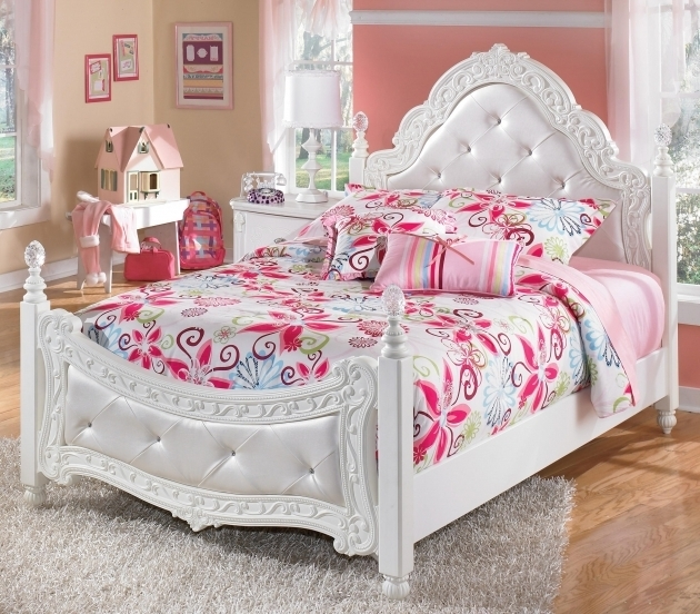 Little Girl Headboards Bedroom Purple Headboard Bench Ideas White Soft Carpet Flooring Teens Pictures 50