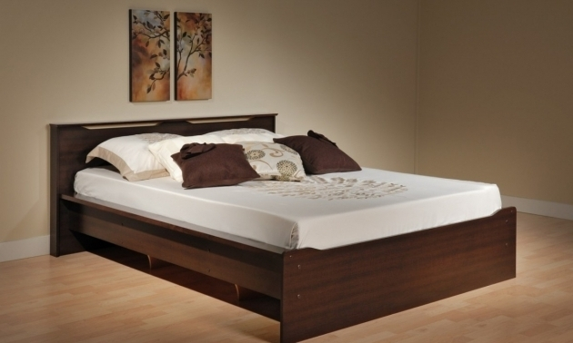 King size storage bed frame