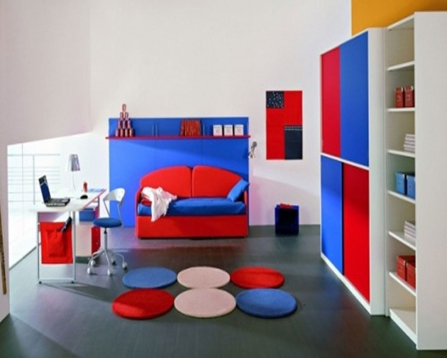 Modern Teenage Daybed For Boy Room Ideas With Colorful Bedroom Decor Image 62