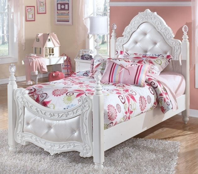 Tufted Little Girl Headboards Bedroom Furniture Full Size Photos 28