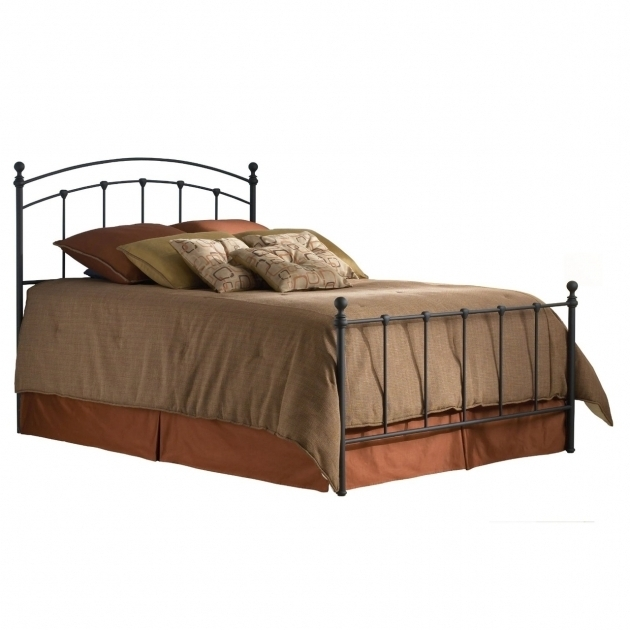 Twin Metal Bed Frame Headboard Footboard In Matte Image 95