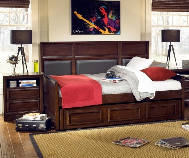 Upholstered Daybed For Boy Full Size K Legacy Classic Image 56