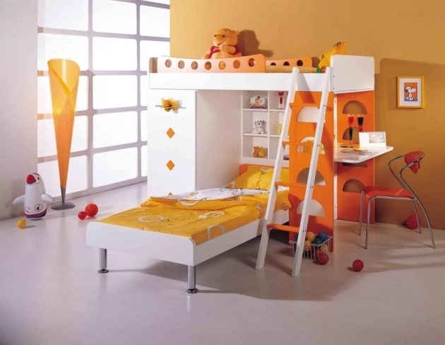 Bunk Beds For Girl And Boy Home Decor Interior Shared Room Ideas Photos 21