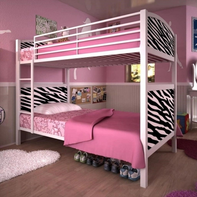 Pink Decor Bunk Beds For Girl And Boy Pictures 96