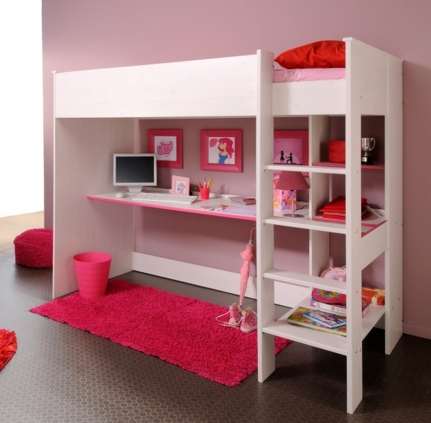 Traditional Varnished Modern Wooden Twin Over Full Bunk Beds For Girl And Boy Image 83