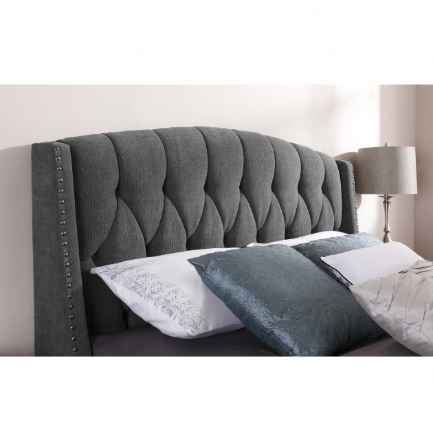 Beautiful Button Cheap Tufted Headboard Upholstered Image 85