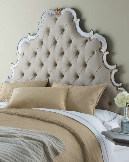 Modern Upholstered And King Beds Cheap Tufted Headboard Photos 11
