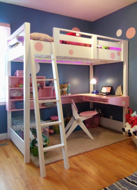 Bunk Bed With Desk Design Ideas Images 73