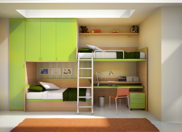 Bunk Bed With Desk Dream Home Images 81