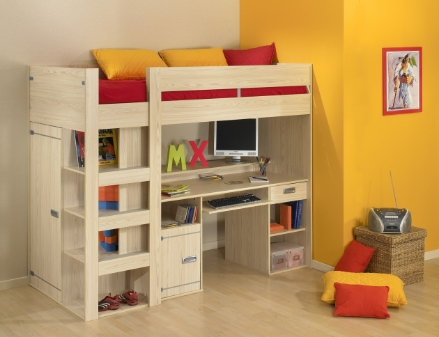 Bunk Bed With Desk Ideasbedroom Furniture For Kids Picture 27
