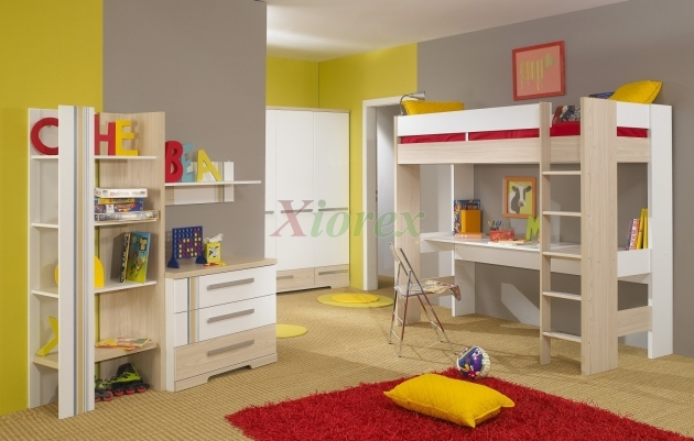 Bunk Bed With Desk Loft Bed Image 95