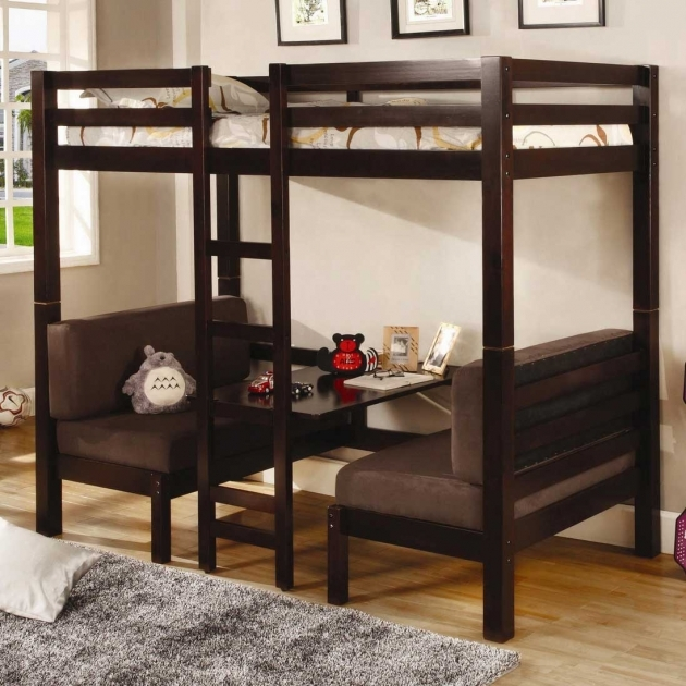 Futon Bunk Bed With Stairs Photo 70