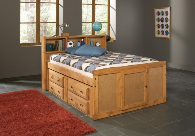 Headboards For Full Size Beds Oak Finish Children Full Size Bed With Bookcase Storage Headboard Photos 48