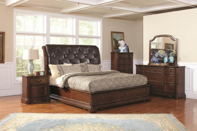 King Size Bed Headboard And Footboard Design Photo 24