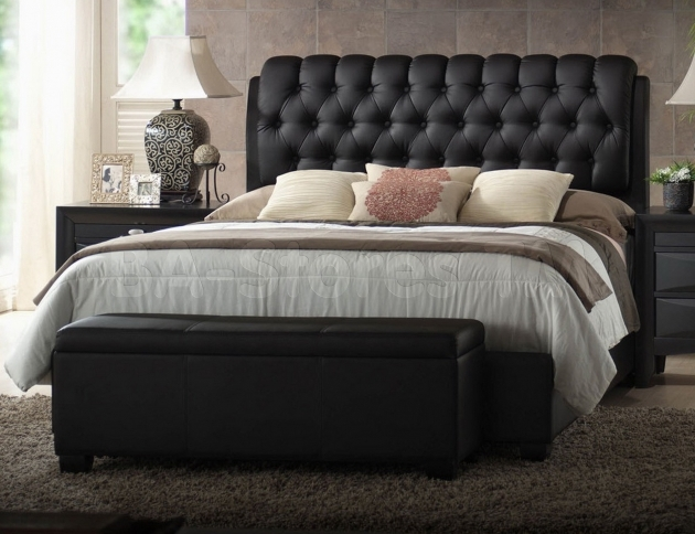 King Size Bed Headboard Tufted Modern Ideas Image 98