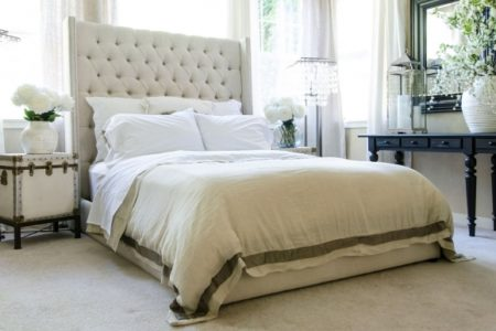 King Upholstered Headboard