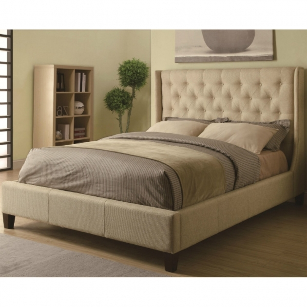 King Upholstered Headboard Bedroom California Padded King Upholstered Headboard For Bedroom Photo 42