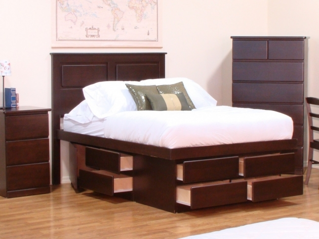 Platform Bed With Storage Twin Modern Ideas Images 10
