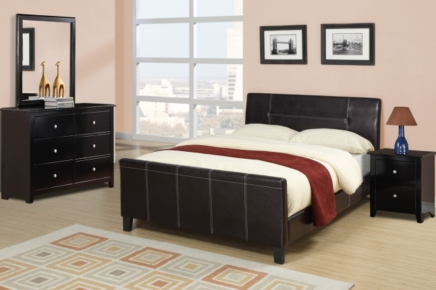 Queen Size Bed Frame F9225 Poundex Picture 16
