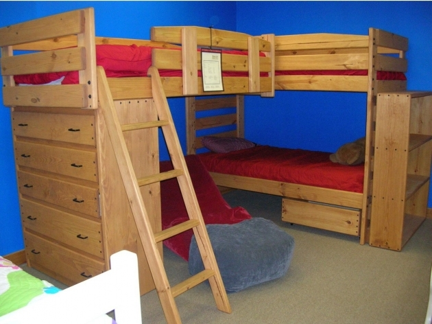 Triple Bunk Bed Home Furniture Inspiration Ideas Pic 34