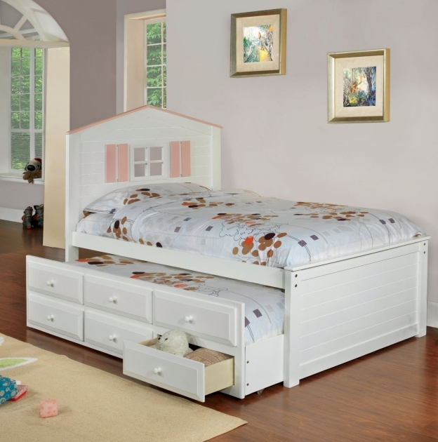 twin bed with storage drawers russell headboard style nickel pull handle brown white cherry wood oak