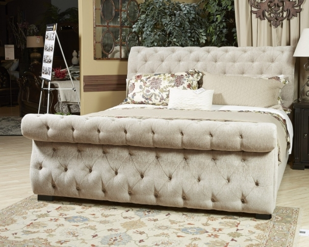 Upholstered Headboard Queen Willenburg Dark Brown Pictures 47