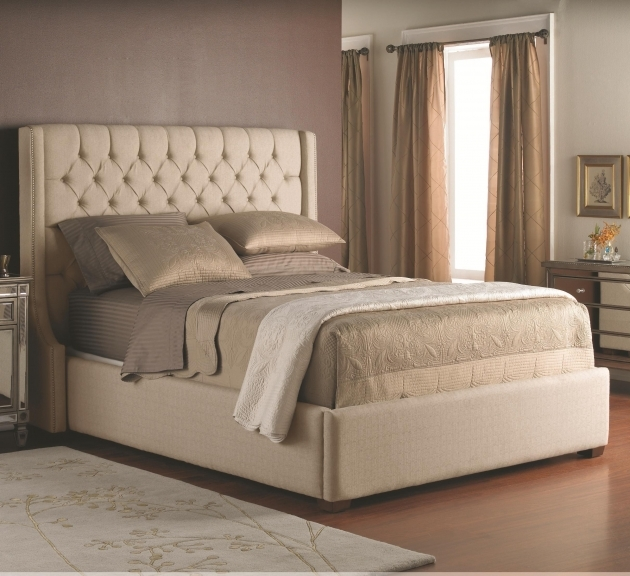 Accentuating The Bedroom With A King Size Headboard Pictures 40