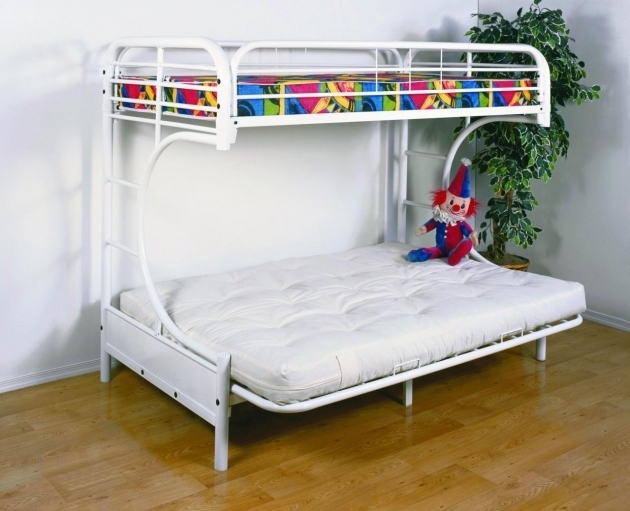 Assemble Futon Bunk Bed Style Dorel Twin Over Full Metal Bunk Bed Multiple Colors Images 07