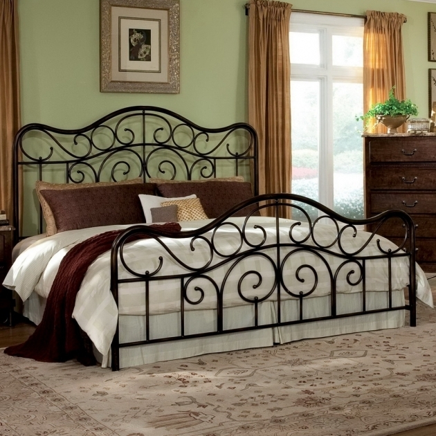 Black Metal Headboards For Double Bed Home Design Ideas