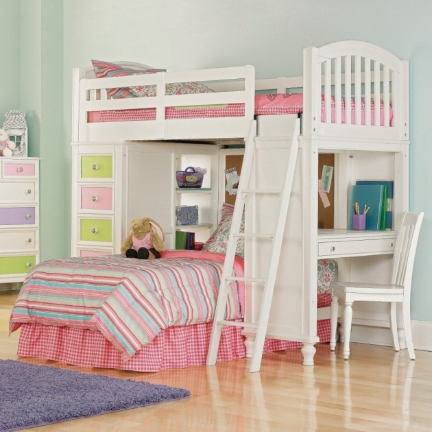Bunk Beds For Kids With Stairs And Desk Picture 18