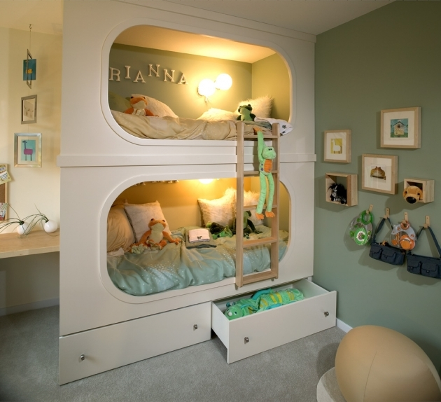 Bunk Beds For Kids With Stairs Steps Image 84