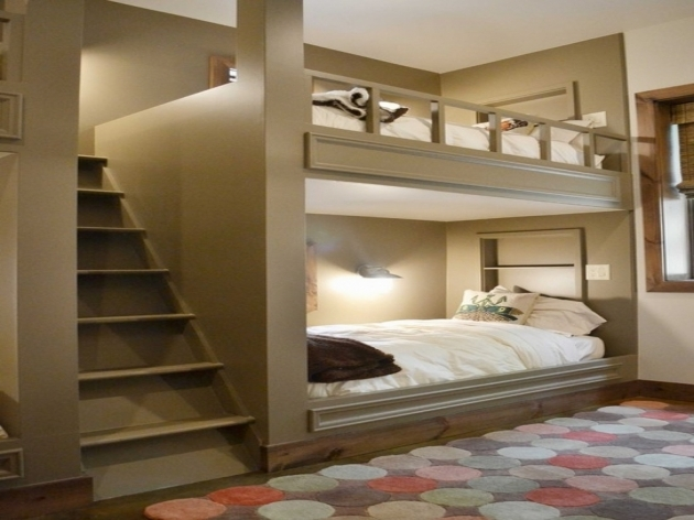 Bunk Beds With Stairs Storage Loft Bed Photo 99
