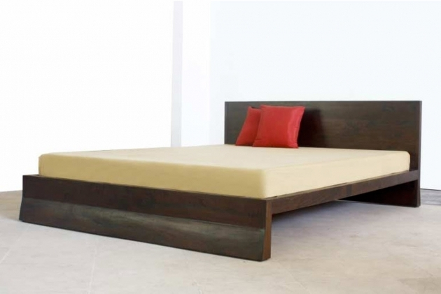 Cairo Asian Platform Bed Photo 11