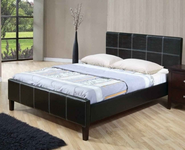 Cheap Platform Bed Frame Queen Model Pictures 04