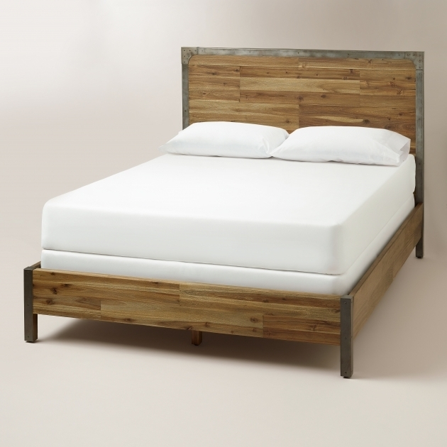 Cheap Queen Headboards Platform Beds Frames Wood And Metal Aiden Photos 98