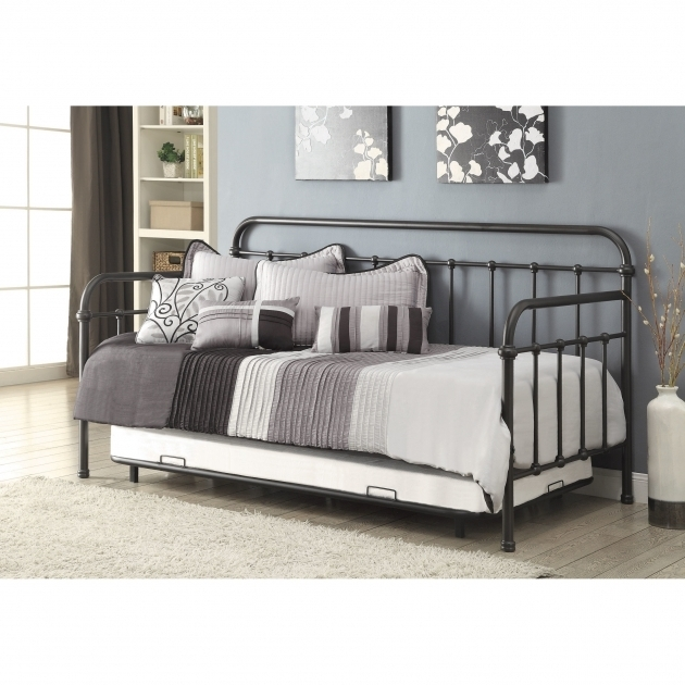 Daybed With Trundle Bed And Storage Drawers Photo 63