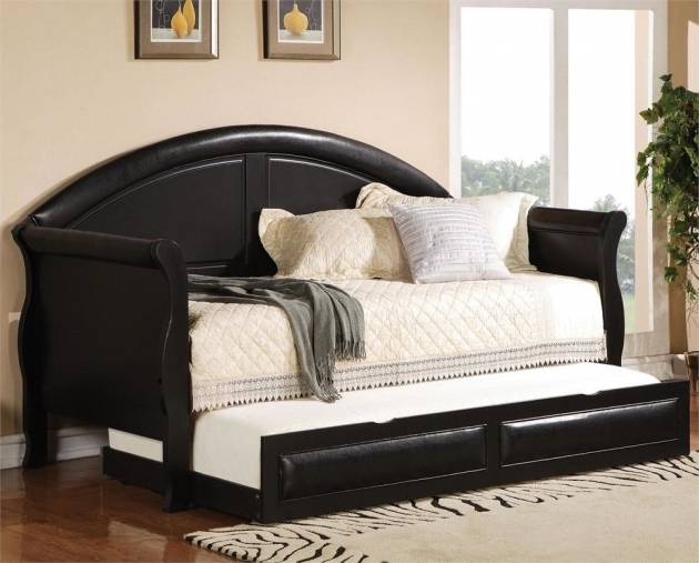 Daybed With Trundle Bed Designs And Mattres Pictures 15