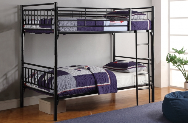 Full Over Full Bunk Beds Metal All American Furniture Photo 27