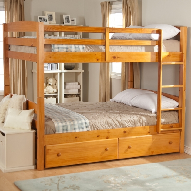 Full Size Bunk Beds Jefferson Full Over Full Stairway Without Bottom Bookcase Toddler Size Bunk Beds Photos 71