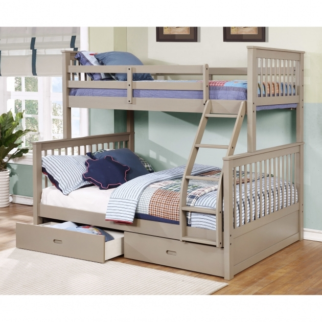 full size bunk beds kids wildon home walter paloma pics 15