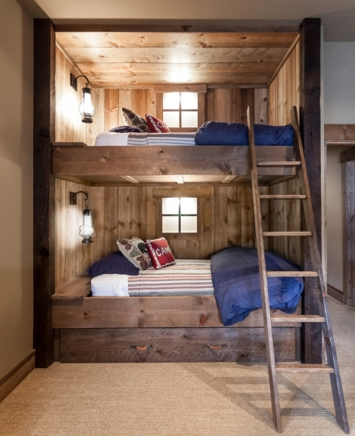 Full Size Bunk Beds Wooden Design Ideas Photos 40