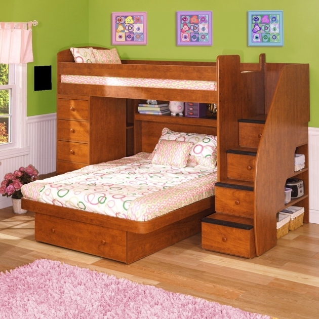 Full Size Bunk Beds Wooden Furniture Design Ideas Photo 14
