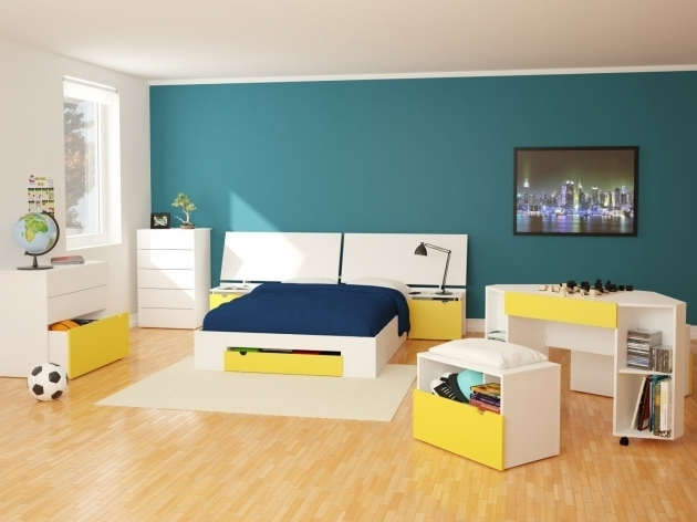 Headboard With Nightstand Attached White Pictures 39
