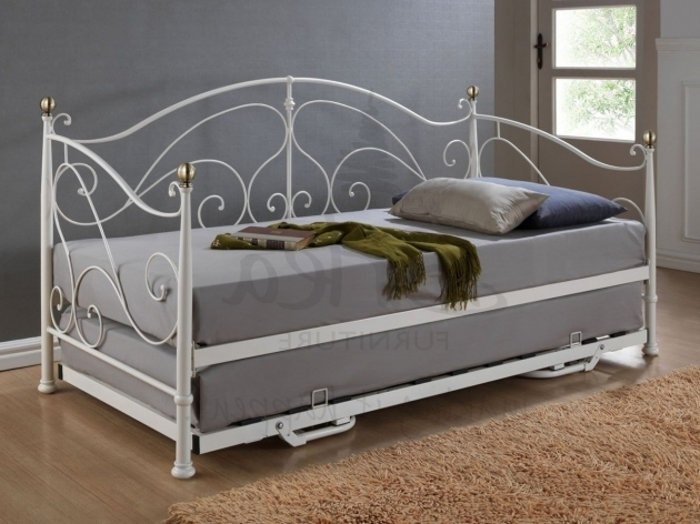 IronDaybed With Trundle Bed Sofa Image 33