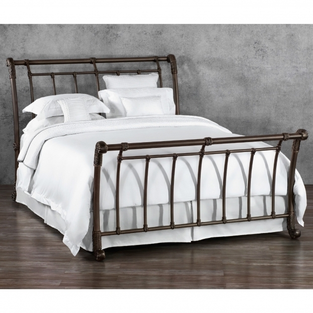 King Beds Size Metal Headboards For Double Bed Brookshire Iron Bed By Wesley Allen Photo 95