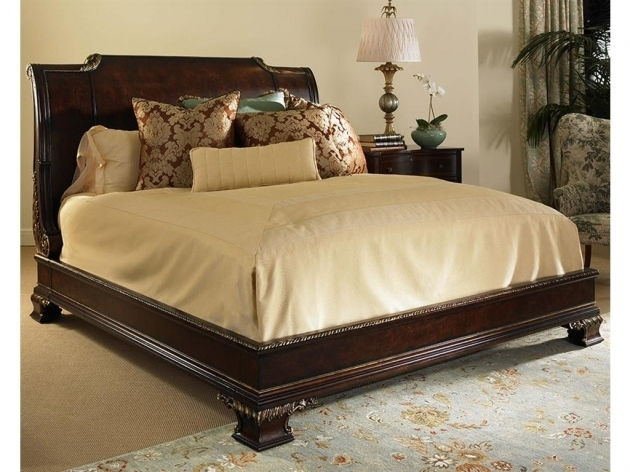 King Size Bed Frame With Headboard And Footboard Attachments Wood Picture 90