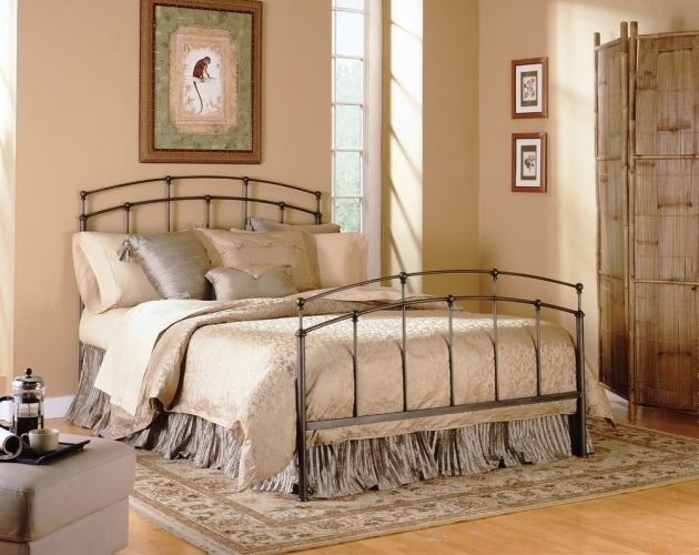 Rustic Metal Bed Frames Cabin Images 37